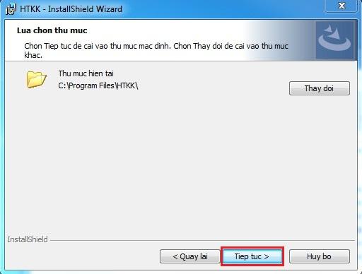 Cài đặt htkk 4.0.8 bước 3