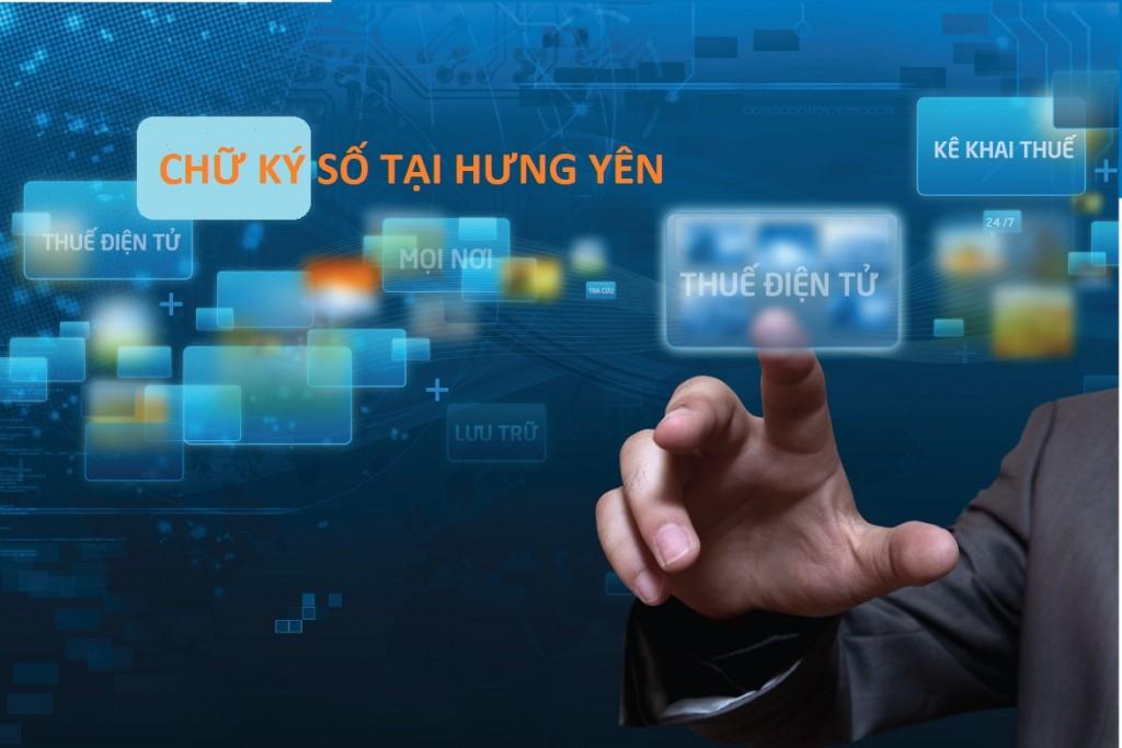 chữ ký số tại Hưng Yên