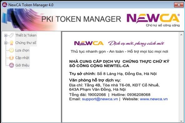 Sửa lỗi usbtoken chữ ký số Newca bị mờ