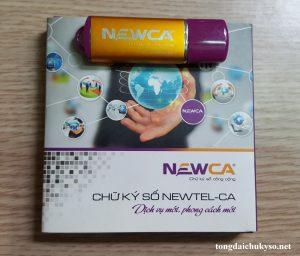 Gia hạn chữ ký số NewCA